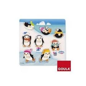 Puzzle Pingouins Goula