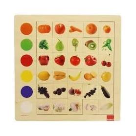 Puzzle 30 pièces fruits et...