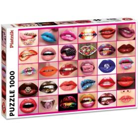 Puzzle 1000 Pièces - Lèvres...