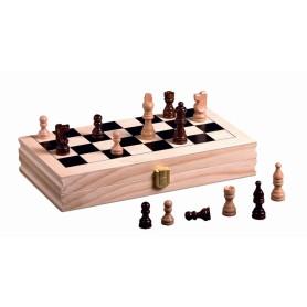 Coffret d'échecs pliable en...