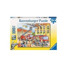 Puzzle Nos Pompiers 100 pièces