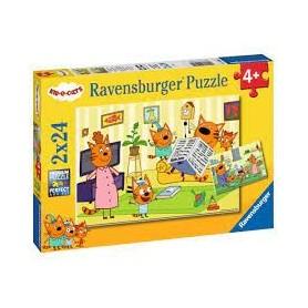 Puzzle A la maison avec les...