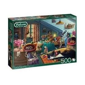 Puzzle 500 Pièces Chats...