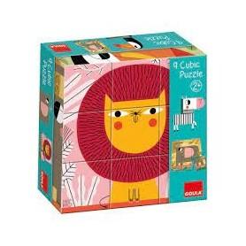 Puzzle 9 cubes 6 images...