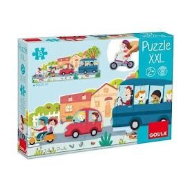 Puzzle XXL Véhicules du...