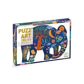 Puzzle Art Elephant Djeco