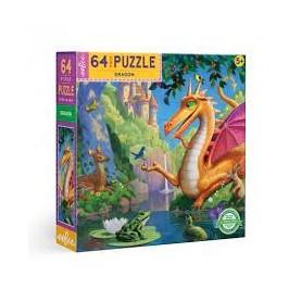 Puzzle 64 Pièces - Dragon